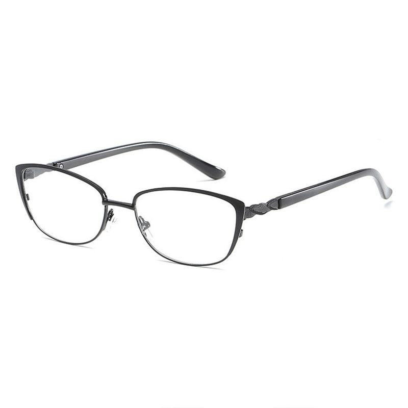 072 Full Rim Optical Eyeglasses Quality Metal Alloy Women Prescription Reading Glasses 1 0 1 5 2 0 2 5 3 0 3 5 4 0 in Women 39 s Reading Glasses from Apparel Accessories