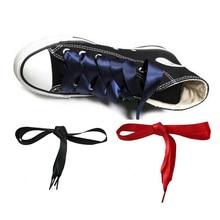 Принцесса Красочные Женщины леди Шнурки Телевизор С Шелковой Лентой Шнурки Обувные Шнурки Кроссовок Спортивная Обувь Фантастические 120 см
