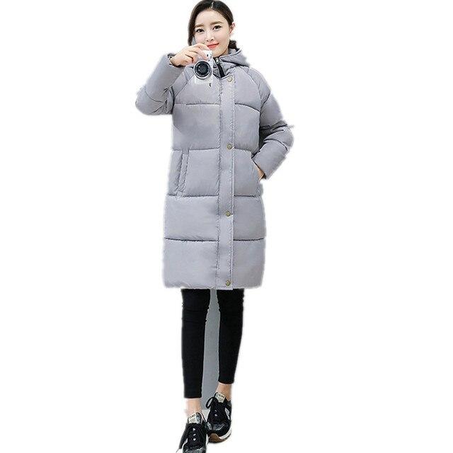 aebe9cfcb1d0 2017 Winter New Women Korean Slim large size cotton clothing loose ...
