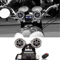 Новая мотоциклетная обувь Велосипедный Спорт ATV звук Радио Колонки стерео Системы Руль управления для мотоциклов FM MP3 для Harley Davidson Softail Fat Boy ...