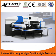 2017 AMD-255 open type CNC turret punching machine/ advanced numerical control special system high quality