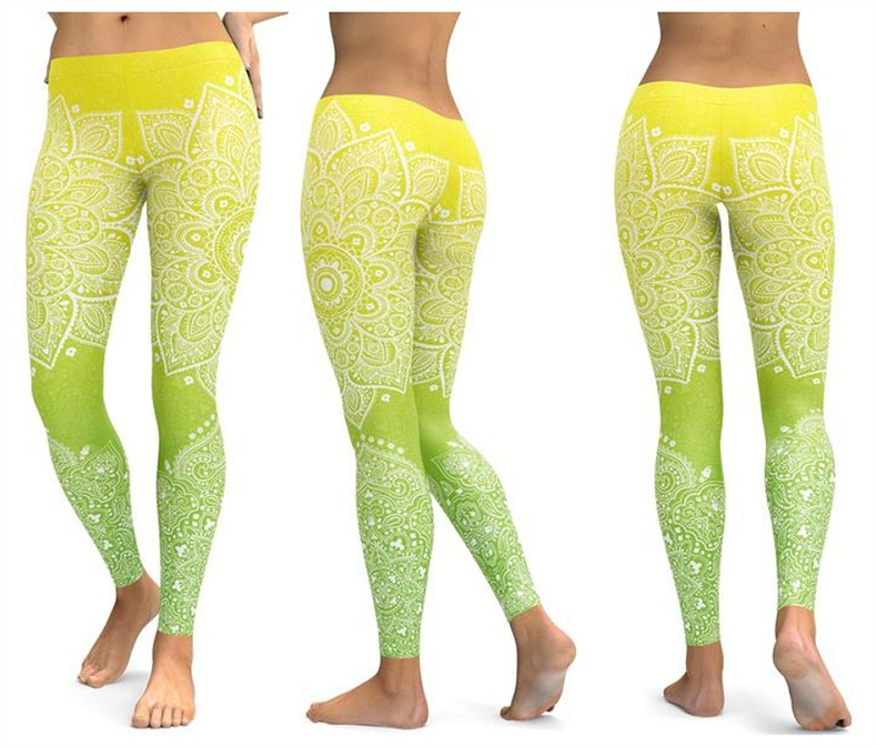 Yoga pants Women's leggings(10)