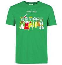 """Nerdy yet super cool TBBT's """"Noble Gases"""" t-shirt"""