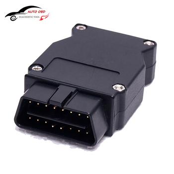 OBD przejściówka adapter dla bmw Enet Ethernet do OBD 2 interfejs E-SYS ICOM kodowanie serii F złącze interfejsu kabel narzędzie diagnostyczne tanie i dobre opinie K KWOKKER Connector cable 0 06kg plastic Kable diagnostyczne samochodu i złącza diagnostic-tool 220v OBD 2 Plug 10inch