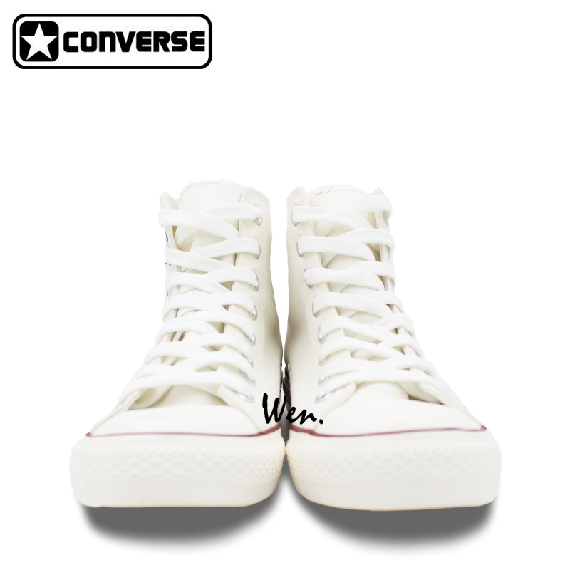 Custom Design Converse All Star Sneakers Poker Dice Hand Painted Canvas Shoes White Sneakers Amazing Presents for Men Women