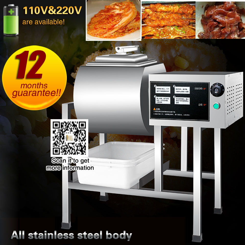commercial marinator bacon marinated pickles brewing machine mechanical marinated machine 110v/220v steak tenderizer marinade image