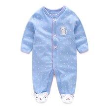 Одежда для маленьких девочек от 0 до 12 месяцев с рисунком кота; Детские ползунки для мальчиков и девочек; комбинезон; одежда с изображением животных; Одежда для новорожденных; Детский комбинезон