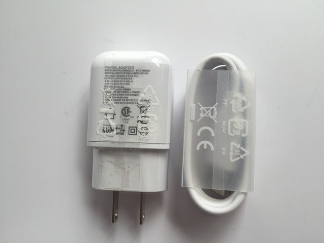 Original white 9V 1.8A Fast wall charger +1M Type c data cable for lg V20 GOOGLE Nexus G5 huawei p9 LETV