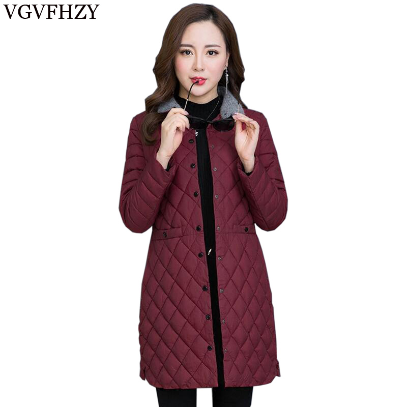 2018 New spring Jacket Lightweight Ultra-Thin Women Warm   Down   Jacket In The Long Section Fashion Female Slim Winter   Down     Coat