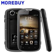 E & L W5 Handy IP68 Wasserdicht Stoßfest MTK6735M Android6.0 Quad Core Smartphone 1 GB RAM 8 GB ROM 4G Handys 2800 mAh FM