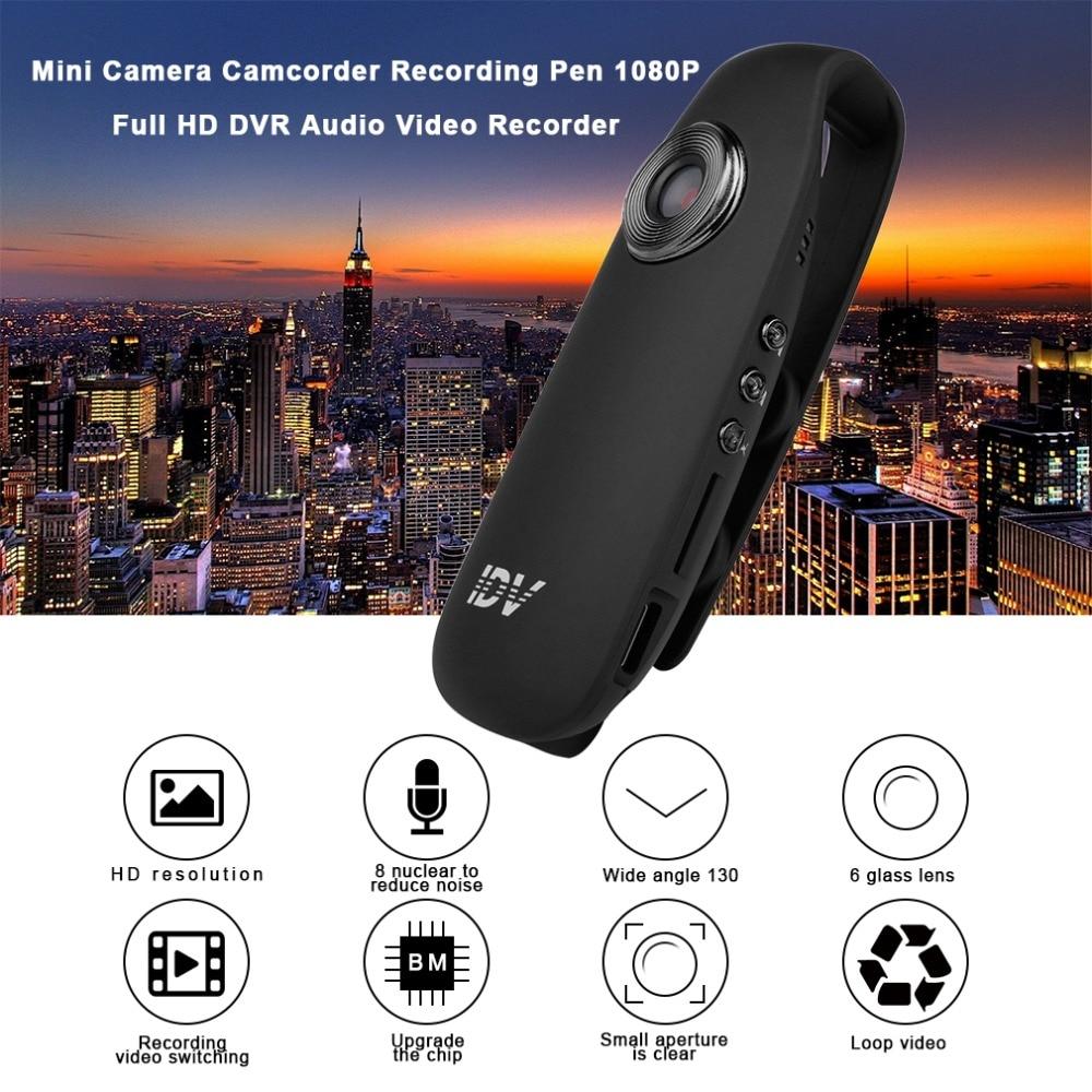Mini Camera Camcorder Recording Pen 1080P Full HD DVR Audio Video Recorder Camera With Clip 130 Degree Wide Angle Professional leshp professional mini camera camcorder recording pen 1080p full hd dvr audio video recorder camera 130 degree wide angle