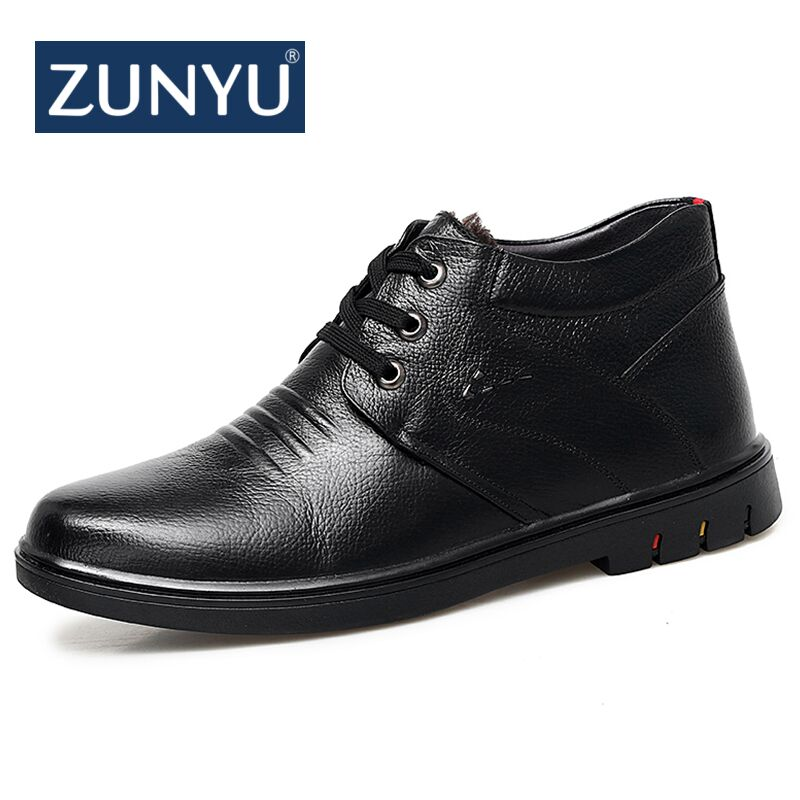 ZUNYU 2018 New Arrivals Lace-Up Side Shoes Men Microfiber Comfortable Casual boot Men Winter Warm Boots Fashion Men Ankle Boots mvp boy brand men shoes new arrivals fashion lightweight letter pattern men casual shoes comfortable lace up casual shoes men page 5 page 1 page 3 page 3