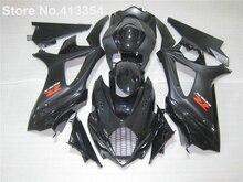 Черный горячие обтекатели продажа для 07 08 Suzuki GSXR1000 K7 K8 обтекатель комплект для GSXR 1000 2007 2008 MU34