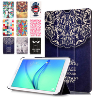 Luxury Print Cover For Samsung Galaxy Tab E 9 6 T560 T561 T565 T567V Case Tablet