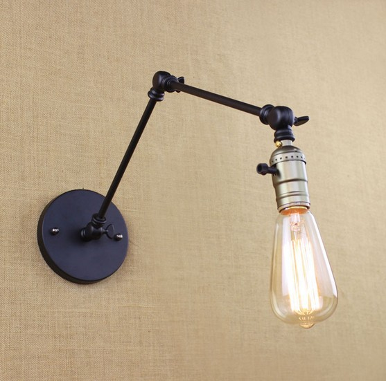 Loft Style Swing Arm Band Switch Wall Sconces Bedside Wall Lamp Edison Vintage Wall Light Fixtures For Home Lighting tasmanian tiger leader admin pouch