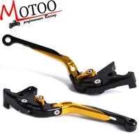 Motoo F 14 C 777 Adjustable CNC 3D Extendable Folding Brake Clutch Levers For YAMAHA FJR 1300 XJR1200 XJR1300 V Max YZF750R