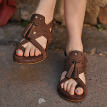 Thick Sole Handmade  Back Strap Sandal