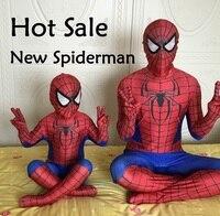 2015 Cool Spiderman Costume Spiderman Suit Spider Man Lycra Children And Adult Spider Man Cosplay
