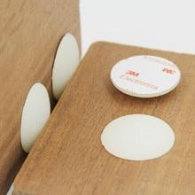 20 PCS 40mm x 8mm  translucent anti slip silicone rubber bumper damper shock absorber 3M self-adhesive Silica gel feet pads