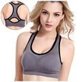 2016 Ladies Padded Wireless Women Sports Bra Gym Tank Top Athletic Vest Fitness Running Brassiere Stretch Sports Bras Sport Bras