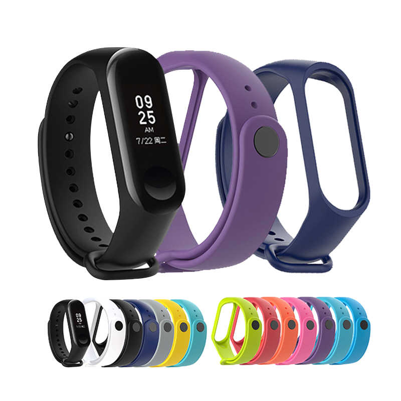 "Xiaomi Mi Band 3 Smart Bracelet Fitness Tracker Sport Silicone Strap 0.78"" Wristband Watch Band for Miband 3"