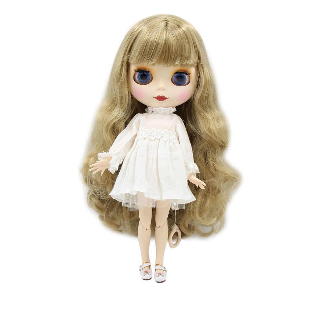 קפוא Blyth בובת עירום משותף גוף עם ידיים AB לא איפור פנים במתנה 1/6 BJD אופנה בובת צעצועים מתנה מיוחדת מחיר