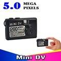 Новые 2016 5MP HD Наименьший Mini DV Цифровая Видеокамера Видеокамера Высокой Четкости и Ультра Камера DVR