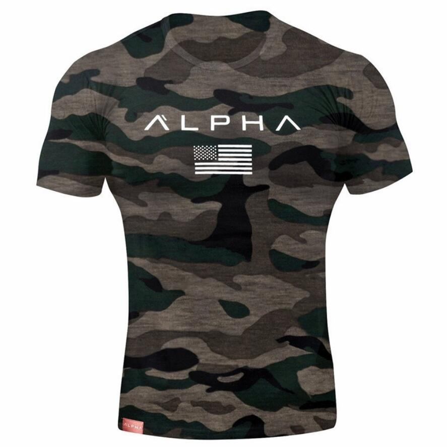 Camouflage Army T-Shirt Men US RU Soldiers Combat Tactical T Shirt Military Force Multicam Camo Short Sleeve Cotton Shirts