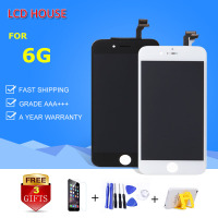 Grade AAA Display For IPhone 6 LCD Screen With Touch Digitizer Full Assembly Replacement White Black