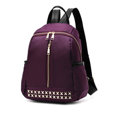New 2017 School Backpack for Girls Backpack Schoolbag Small Purple School Back Pack Sac A Dos