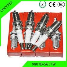 4 шт./лот, автомобильные свечи, IZFR6K-11 9807B 5617W лазерная иридий свечи зажигания для Honda 9807B-5617W IZFR6K11 6994 IZFR6K 11 9807B5617W