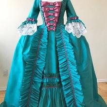 18-й век Платье Великолепное рококо платье историческое костюм платье События