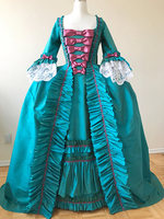 18th Century Gown Gorgeous Rococo Gown Historical Costume Event Dress