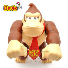 Bevle Super Mario 15cm Fashion Puppets Model Mario Bros King Kong PVC Action Figure Model Kit Toy Doll Decoration