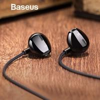 Baseus 6D стерео наушники-вкладыши Наушники проводное управление басовый звук наушники для iPhone Xiaomi huawei 3,5 мм type c наушники