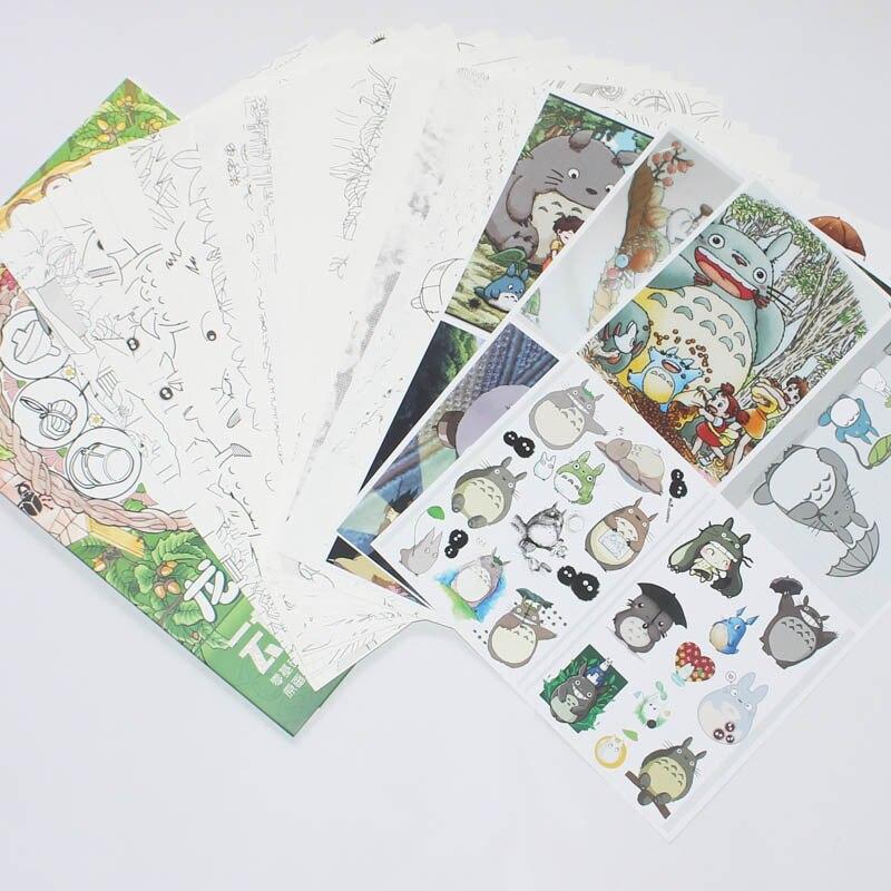 Aliexpress.com: Comprar Anime mi vecino Totoro libro para colorear ...