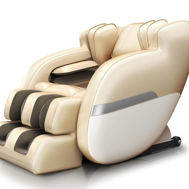 4D интеллектуального автоматического домой Электрический стул массажа полный тело шея ног Разминающий Массаж Шиацу здравоохранения многоф...