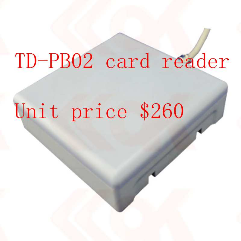 In freeshipment to United Kingdom TD-PB02 card reader and 200pcs PD-PA02 cardsIn freeshipment to United Kingdom TD-PB02 card reader and 200pcs PD-PA02 cards