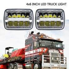 السفينة حرة 4x6 LED المصباح 45 واط شاحنة المصابيح الأمامية H4 led عدة H4651/H4652/H4656/H4666/H654 الشاحنات الثقيلة مقطورة النقل