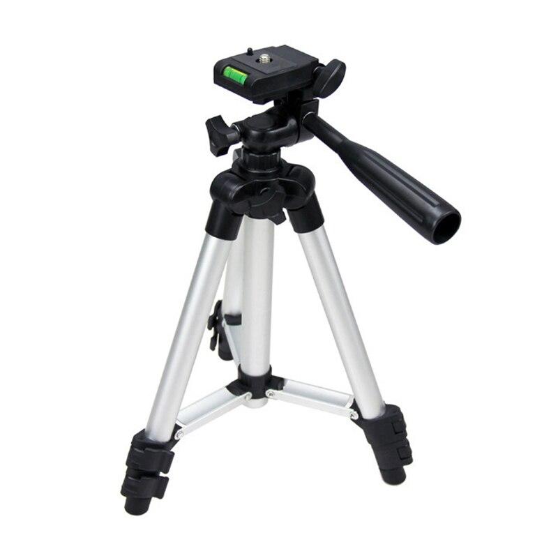 Universale Treppiede Portatile Fotocamera Digitale Videocamera Treppiede In Alluminio Leggero per Canon Nikon Sony @ JH