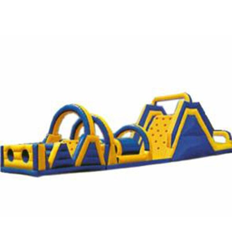 Parc d'attractions gonflable d'obstacle d'équipement de terrain de jeu d'enfants pour des enfants