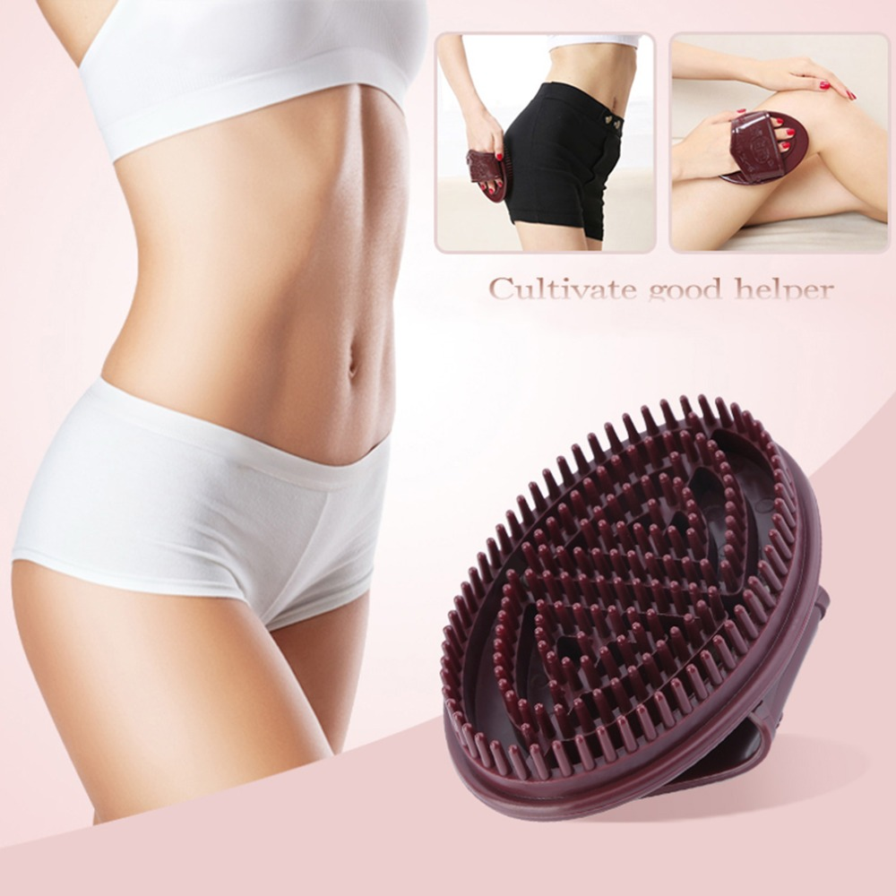 Body Massager Brush Glove Anti Cellulite Slimming Relaxing Scrub Massager Bath SpaHigh Quality Professional Soft Cellulite