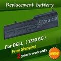 Jigu n958c t114c t116c u661h substituição da bateria do portátil para dell vostro 1310 1320 1510 1520 2510