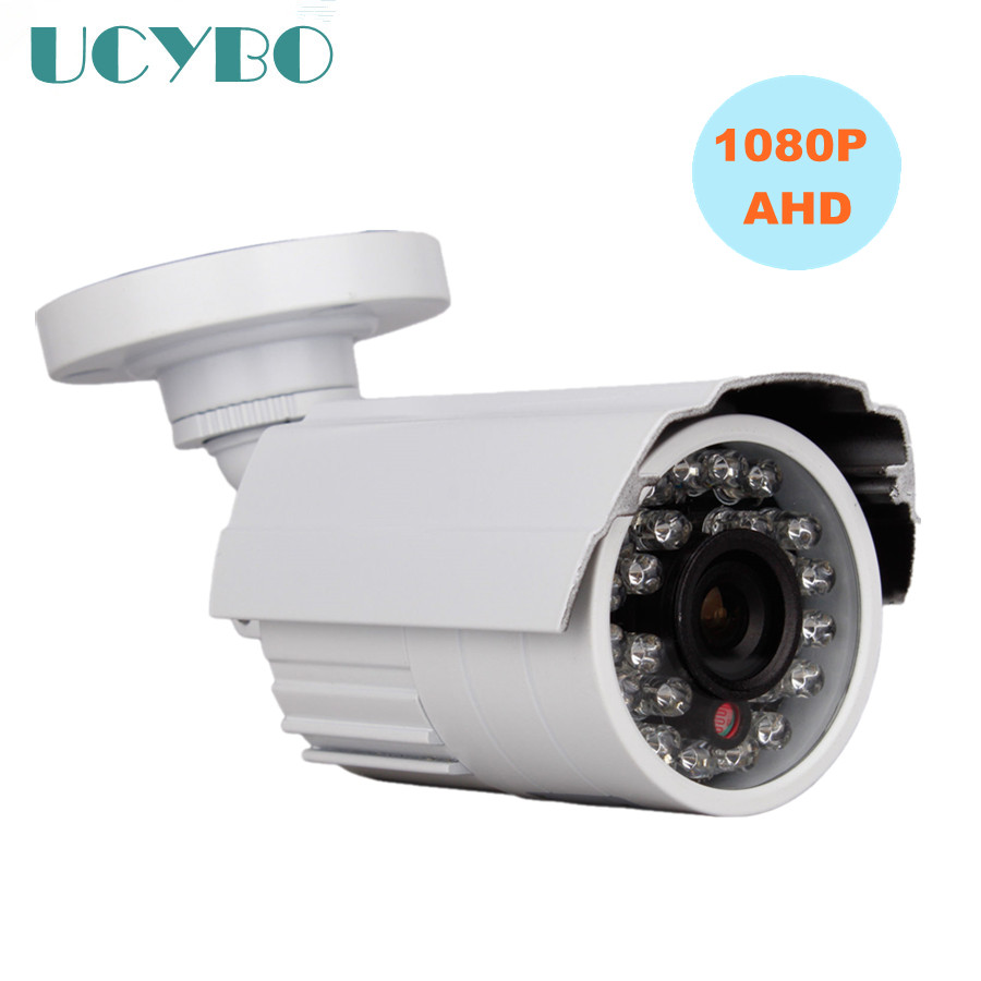 2.0MP SONY CMOS AHD Security Camera HD 1080P Outdoor Waterproof IR infrared night vision CCTV video Surveillance 3000TVL Camera ah4rp 130 direct factory cmos cctv camera outdoor mini video surveillance analog infrared ir night vision waterproof bullet se