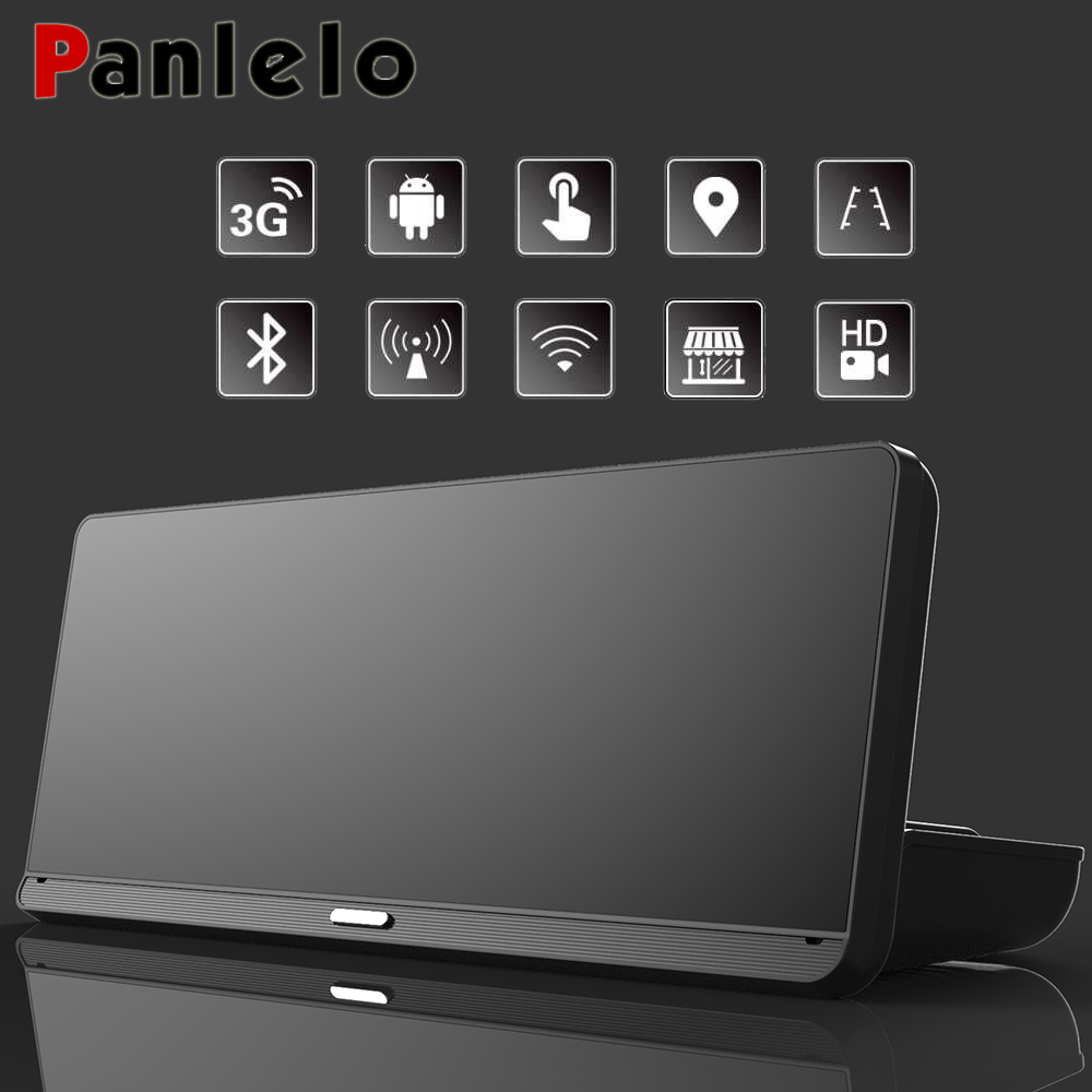 Panlelo GPS for Car 7.84 HD 1080P Android 5.0 GPS Map and DVR GPS with MP3/MP4 Players Bluetooth G-SENSOR Navigation for Car