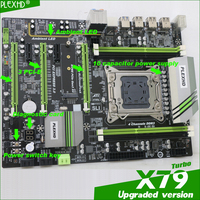 For Intel planform desktop motherboard new X79 board LGA 2011 CPU support 64GB DDR3 REG ECC server memory boards x 79