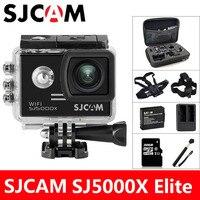 SJCAM SJ5000X Elite экшн камера 4 К Wifi Спорт DV Дайвинг 30 м Водонепроницаемый 1080 P HD NTK96660 гироскопа 2.0 Экран оригинальный SJ Cam 5000 экшен камера