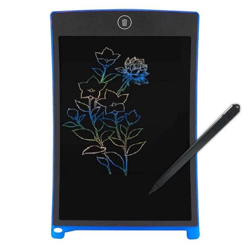 8.5 Inch Color Display Tablet Reusable Baby Drawings Writing Board 2018 Fashion Painting Tools Electronic Drawing Board ...