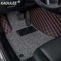 KADULEE car floor mat For mercedes w212 gla w245 w211 w169 ML GLA cla w204 gle waterproof accessories carpet custom floor mats