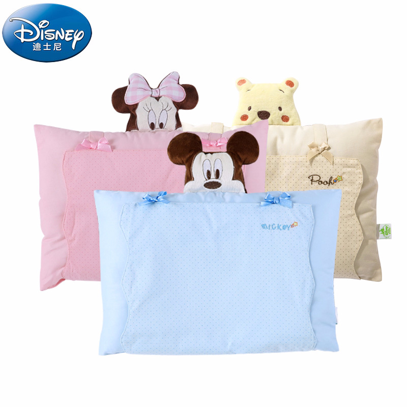 цена на Disney Minnie Mickey Cotton Baby Shaping Pillow Lovely Fashion Baby Shaping Pillow NewArrival Soft Baby Pillow Toddler Shape